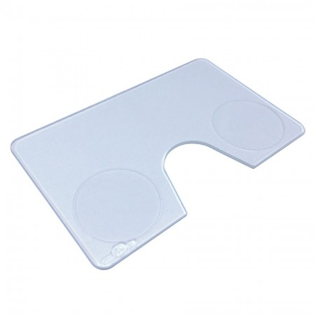 Acrylic Credit Card Size Reading Magnifying Glass - 3X acrylic Credit Card Size Reading magnifying glass