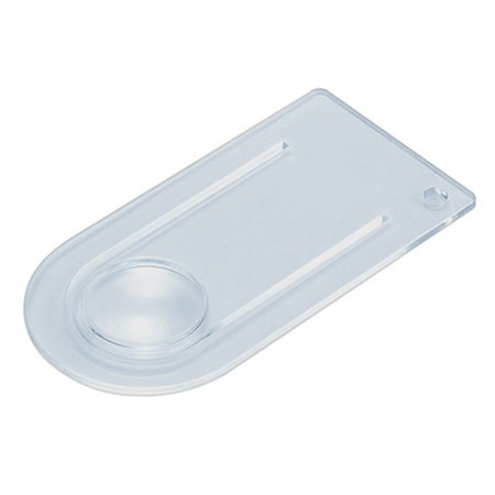 Acrylic Plano Convex Lens Bookmark Magnifier - 3X acrylic Fresnel Lens Bookmark Magnifier