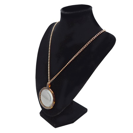 Necklace Magnifier - Pendant magnifying glass with necklace