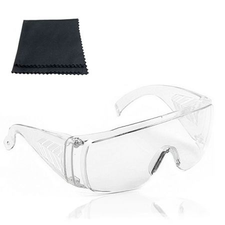 Clear Impact Resistant Protective Safety Glasses