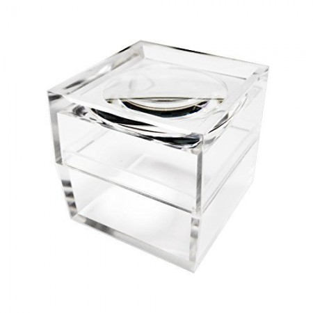 5X Acrylic Cubic Bug Viewer Box Magnifier