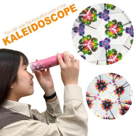 Kaléidoscope bricolage - Kaléidoscope éducatif bricolage pour les enfants