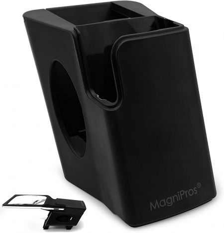 The Ultimate Stand/Holder for MagniPros ED Series LED Reading Magnifiers - durable stand for MagniPros ED Series LED Reading Magnifiers