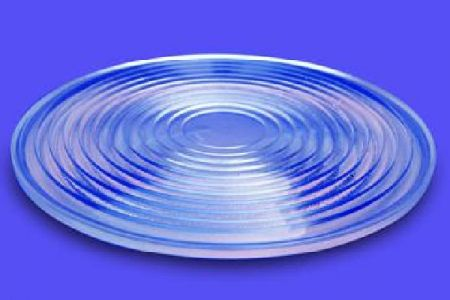 Physical Diagram of a flat Fresnel Lens