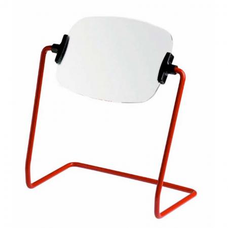 Hands Free Coil Stand Magnifying Glass - Hands Free magnifying glass on Stand for Low Vision