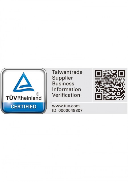 TÜV Rheinland CERTIFIED Taiwantrade Supplier Business Information Verification