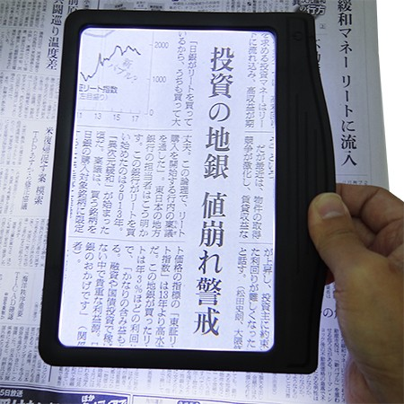 Reading Magnifier with LED Lights
