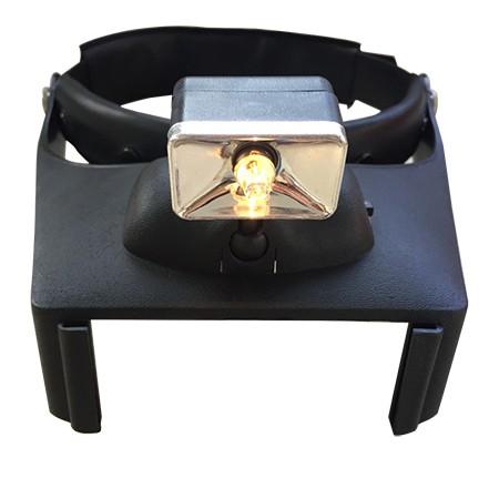 Head Magnifier Visor with LED Light