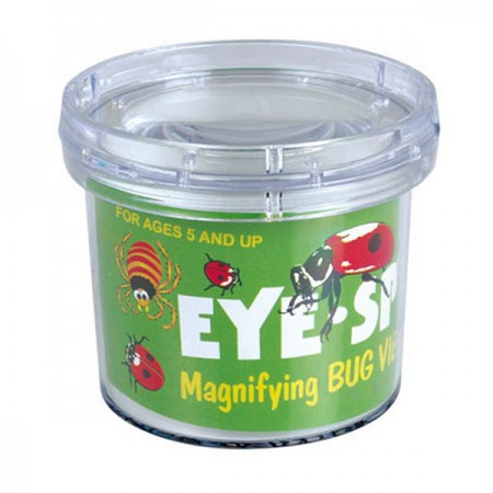 3X Magnifying Natural Bug Viewer Insect Magnifier Box for Children
