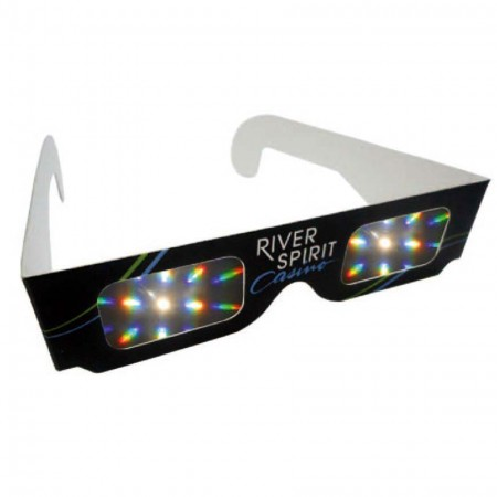 Wholesale Cardboard Paper 3D Rainbow Glasses - Paper 3D Fireworks Glasses