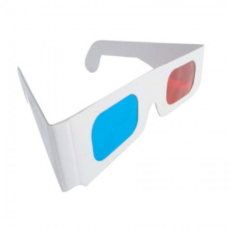 35c55718192 Custom Paper Anaglyph 3D Red Cyan Glass   Red Blue Glasses ...