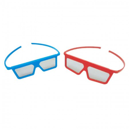 Plastic Passive Polarized 3D Glasses for Movie Theater or TV Watching