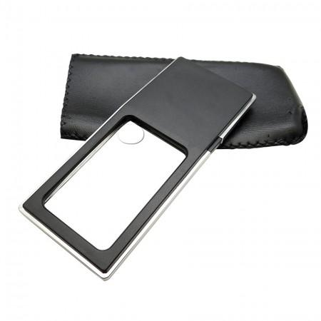 Rectangular Shape Pocket LED Lighted Magnifier