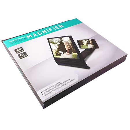 3D Smartphone Screen Magnifier OEM Box