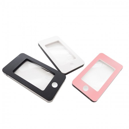 iPhone Shape lighted magnifier with LED