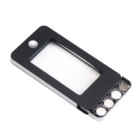 iPhone Shape LED magnifier with 4 LED light