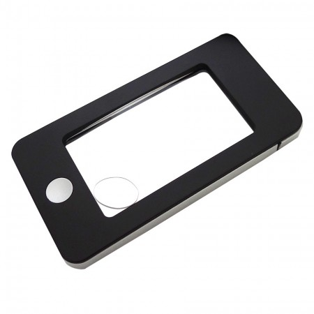 iPhone Shaped Pocket Magnifying glass with 4 LED Light - iPhone Shape magnifying glass with light, Pocket magnifying glass