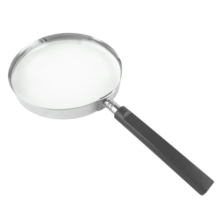 5inch Large Handheld Magnifier Classic 2X Enlarge For Reading - large handheld magnifier for reading