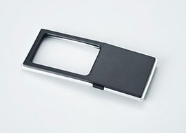 Pocket magnifying glass with LED Light