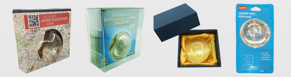 Dome Magnifier Packing Reference