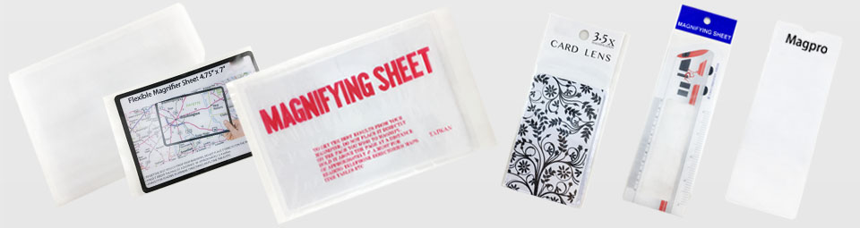 Magnifying Sheet Packing Reference