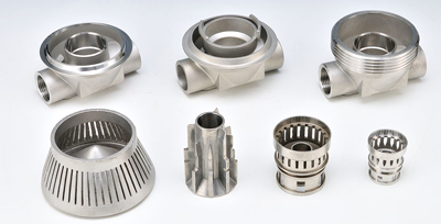 Machine Parts -  lost wax investment casting