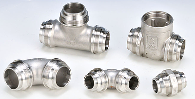 Pipe Fitting -  lost wax investment casting
