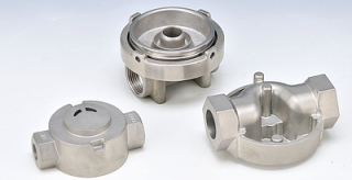 Manifolds - Lost wax casting - Manifolds -  lost wax investment casting