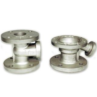 フランジバルブ-ロストワックス鋳造 - フランジバルブ部品用の精密ロストワックスインベストメント鋳造