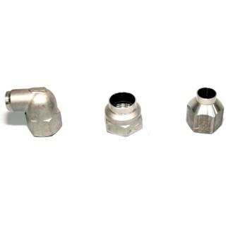 パイプ継手 - ロストワックス鋳造 - パイプ継手部品用精密ロストワックスインベストメント鋳造