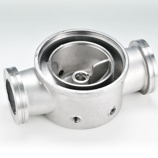 Pump Base - Lost wax casting - Pump Base -  lost wax investment casting