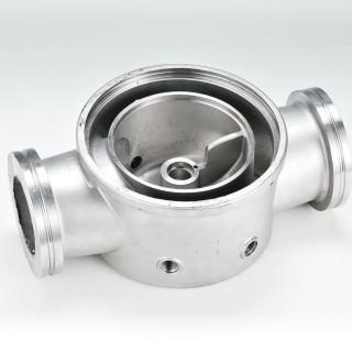 ポンプベース - ロストワックスキャスティング - ポンプベース部品用精密ロストワックスインベストメント鋳造