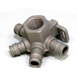 Conector de țeavă special - turnare de ceară pierdută - Precizie Pierderea de ceară de investiții în ceară pentru piesele speciale ale țevilor pentru țevi