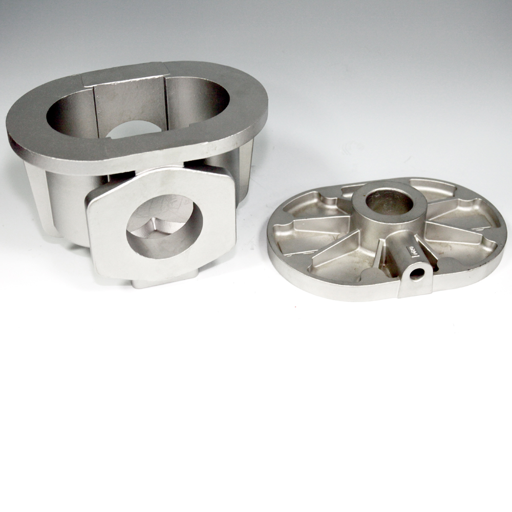 Manifolds Lid -  lost wax investment casting