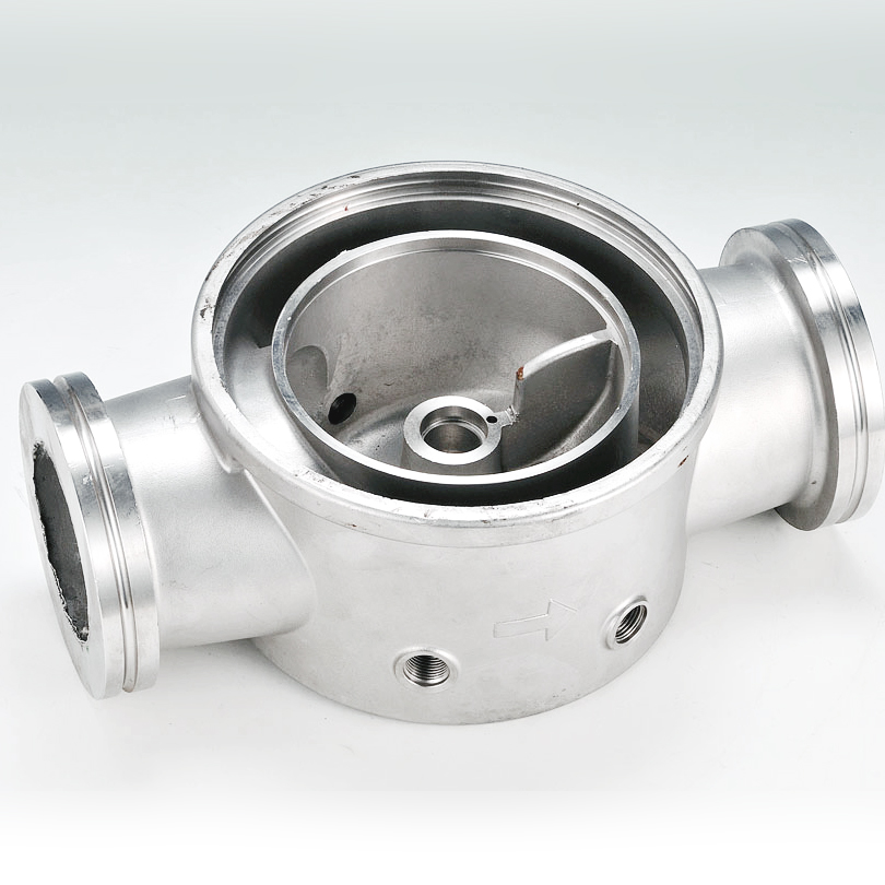 Pump Base -  lost wax investment casting