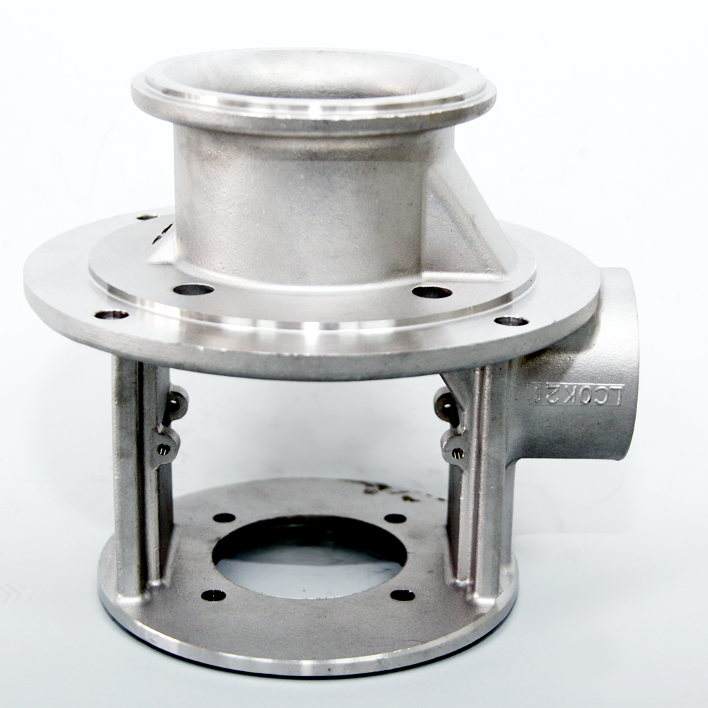 Pump Lid -  lost wax investment casting