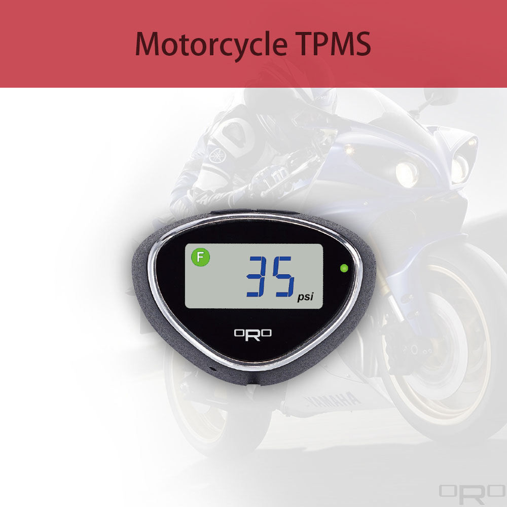 A motorcycle TPMS is suitable to all kind of motorcycle.