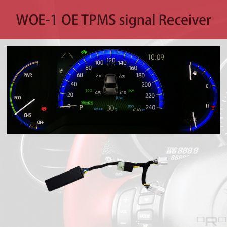 Receptor de señal OE TPMS - WOE-1