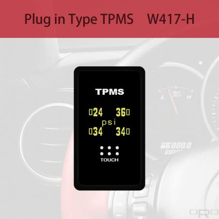 플러그인 타입 타이어 공기압 모니터링 시스템 (TPMS) - W417-H는 HONDA 블랭크 스위치 유형 TPMS 용으로 개발되었습니다.