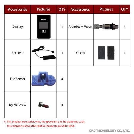 W417-H Accessories