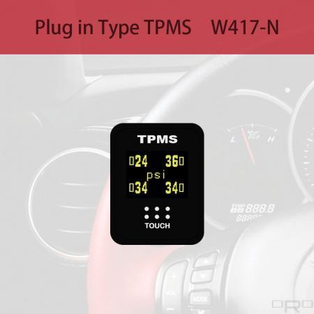 플러그인 타입 타이어 공기압 모니터링 시스템 (TPMS) - W417-N은 NISSAN 블랭크 스위치 유형 TPMS 용으로 개발되었습니다.