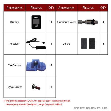 W417-T Accessories