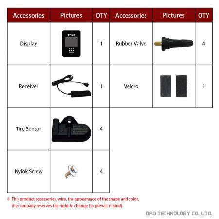 W417-TA Accessories - Rubber Valve