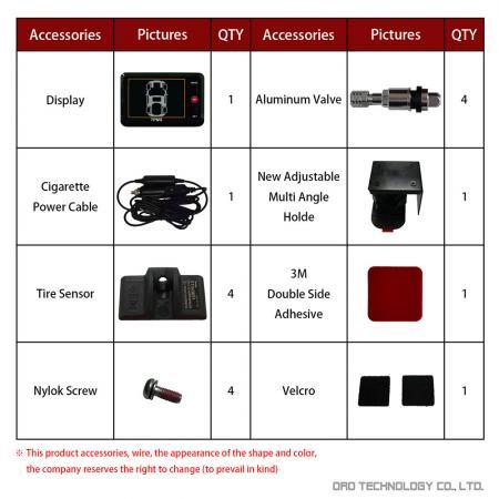 W401 Accessories-1