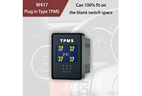 Conecte o tipo TPMS W417