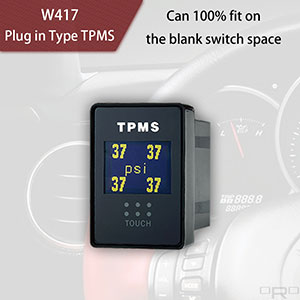 Enchufe tipo TPMS W417