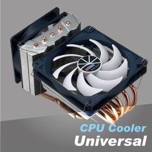 CPU hava soğutucusu, bilgisayarınız için donmuş yüksek kaliteli ısıtma soğutma çözünürlüğü sağlar.