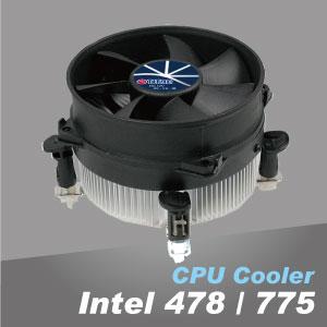 Les ailettes en aluminium et la conception silencieuse des ventilateurs assurent des performances de refroidissement incroyables.