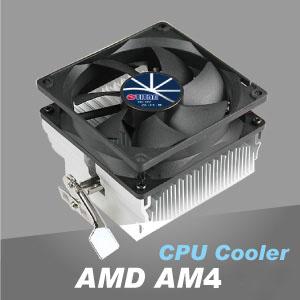 TITAN專業散熱研發,高效率鋁散熱片設計,透過鋁絕佳導熱特性,創造求優異CPU散熱效能。