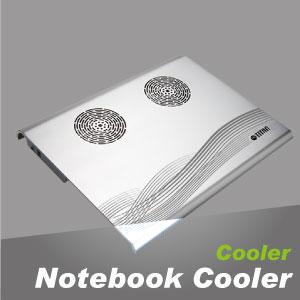 筆記型電腦散熱器,擁有舒適的人體工學設計,適用各種尺寸的筆電。
